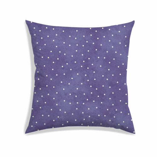 "Polka Dot Print Satin Housse De Coussin Décoratif Throw Sofa Pillow Cover 12x12/"""