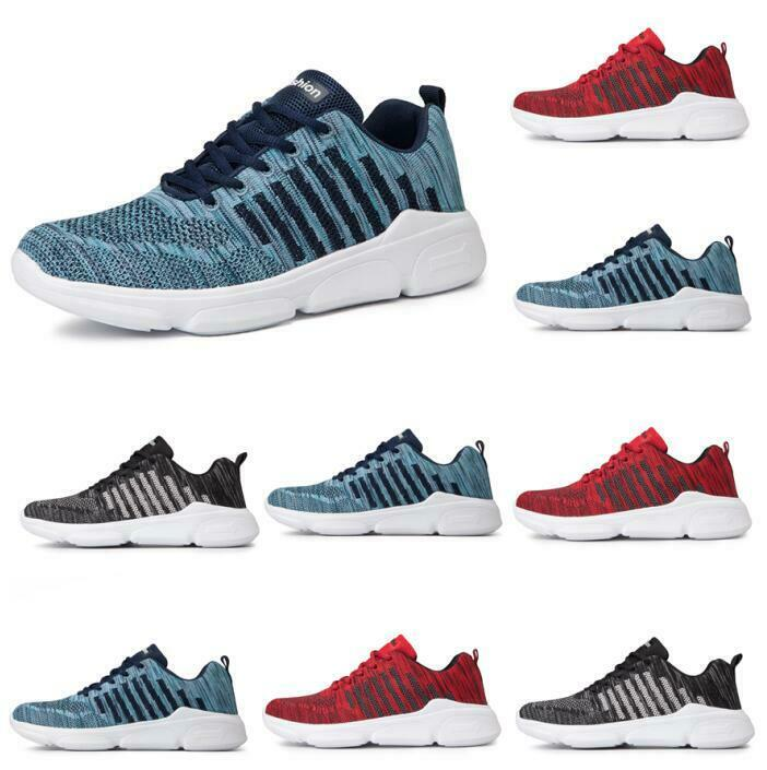 Fashion Mens Sports Casual Hiking Athletic zapatillas Running zapatos New Breathable
