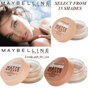 Maybelline-Dream-Matte-Mousse-SPF15-Matte-Perfection-Foundation-Lightweight-Feel
