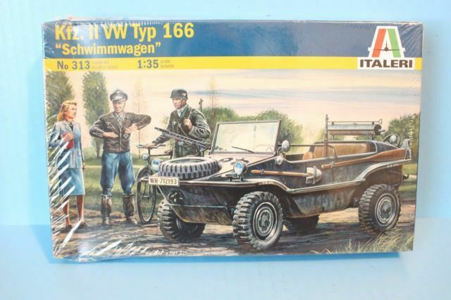 Schwimmwagen Kit italeri 1:35 IT0313