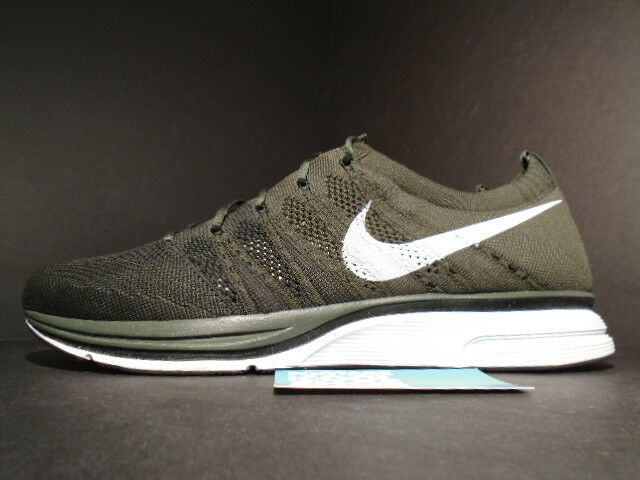the latest f1cc7 0c340 ... Nike Air FLYKINT TRAINER Racer Racer Racer + nero SEQUOIA OLIVE verde  bianca 532984-030 ...