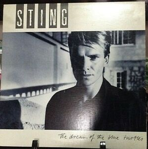 STING-The-Dream-of-the-Blue-Turtles-Album-Released-1985-Vinyl-Record-Collection