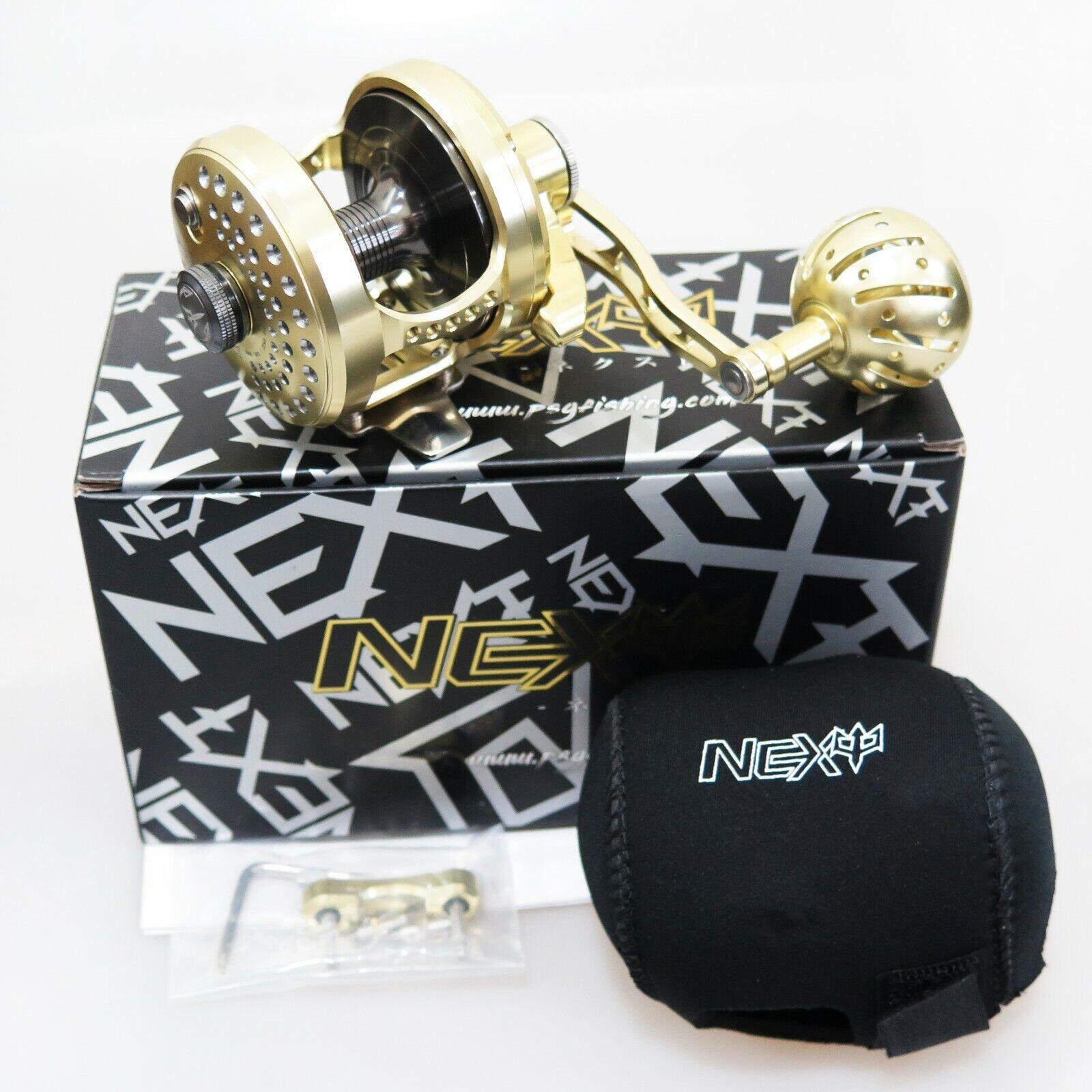 NEW NEXT 500N R Heavy Duty Right Handle gold   Gunsmoke Fedex 2 days to Us
