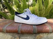 4f98aea33e05 item 4 Nike Air Jordan 1 One Retro Low OG White Midnight Navy Blue SIZE 11 -Nike  Air Jordan 1 One Retro Low OG White Midnight Navy Blue SIZE 11