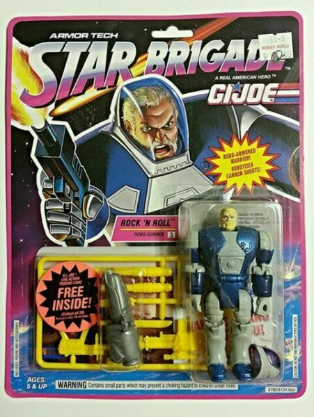 GI Joe Weapon Star Brigade Rock N Roll UZI 1993 Original Figure Accessory