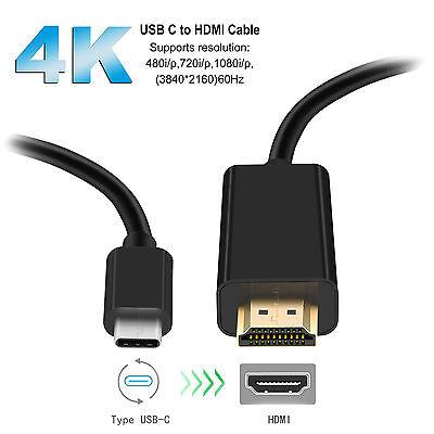 USB-C Type C USB 3.1 to HDMI M//F 2160p Full 4K@60Hz Cable For Galaxy S8 S8 HDTV