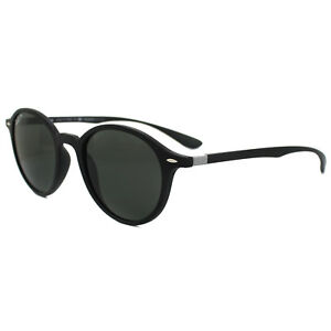 93e0e168fd7ae Ray-Ban Sunglasses Round Liteforce 4237 601S58 Black Green Polarized ...