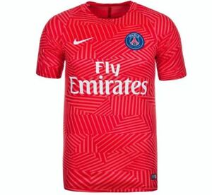179ed94c2af5b NIKE Paris Saint Germain Pre Match Training S S Soccer Shirt Jersey ...
