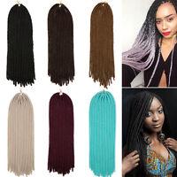 24 Fashion Braiding Synthetic Hair Extension Twist Braids 115g Women Ombre Us