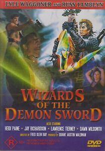 Wizards-of-The-Demon-Sword-DVD-1991-Medieval-FANTASY-DRAGON-TROMA-MOVIE-RARE