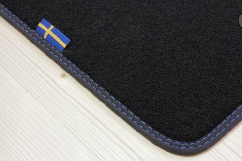 Fußmatten im Schweden-Design für Volvo V70 XC70 Typ P24