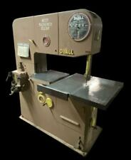 Doall 3613 2 36 Vertical Band Saw With Blade Welder 440v 3 Phase