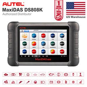 Details about Autel DS808K Auto ABS Brakes Bleeding Bi-directional Testing  Car Diagnostic Tool