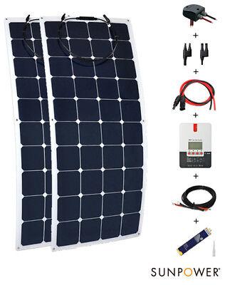 Diligent Kit 300 Watt segel Solar 300w 12/24v Wohnmobil Komplett Schlauch To Invigorate Health Effectively