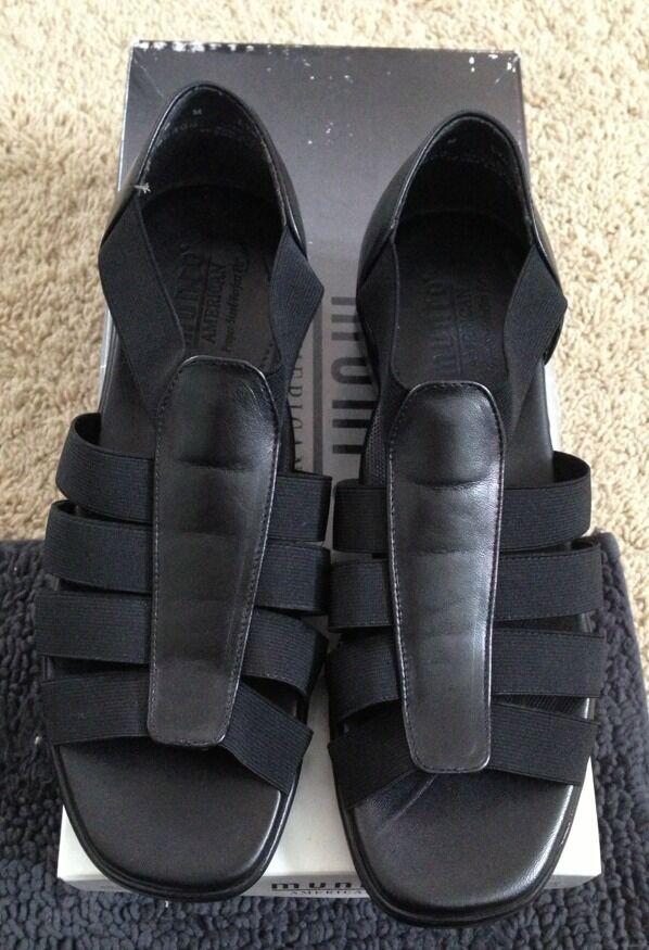 Munro American Nassau Womens shoes Brand New New New In Box   Black Stretch 6M dc4af3