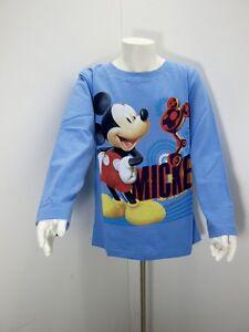 T-shirt-enfant-manches-longues-Disney-Mickey-100-coton
