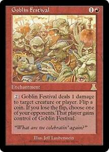 GOBLIN-FESTIVAL-Urza-039-s-Destiny-MTG-Red-Enchantment-RARE