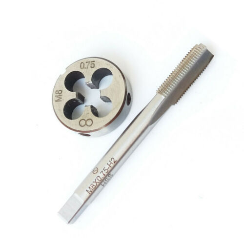 Screw Tapping die tap Metric Right hand HSS Tool Round Bit Accessories Set