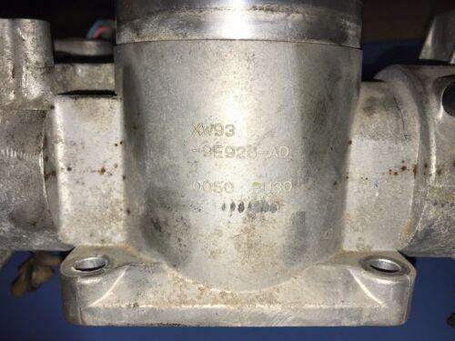 1999 2000 2001 2002 2003 JAGUAR XJ8 XJ8L VANDEN PLAS THROTTLE BODY XW93 9E926 AD