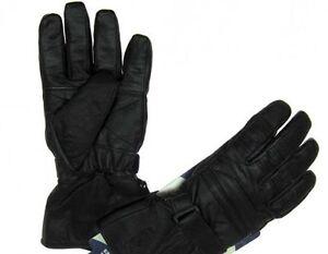 Winter-Leder-Handschuhe-Motorradhandschuhe-Motorrad-Roller-S-M-L-XL-XXL