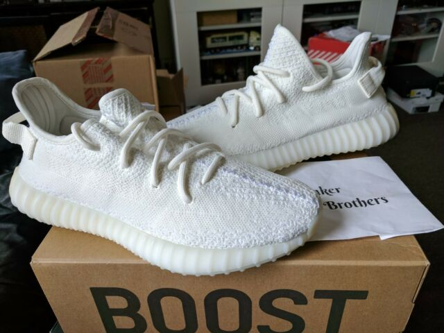 96ad4298822 Adidas Yeezy Boost 350 V2 Cream Triple White Core SPLY Kanye West CP9366  Zebra