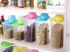 Creative Plastic Kitchen Food Cereal Grain Bean Rice Storage Container Box