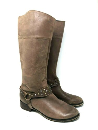 Bp nordstrom leather studded strap riding boots br