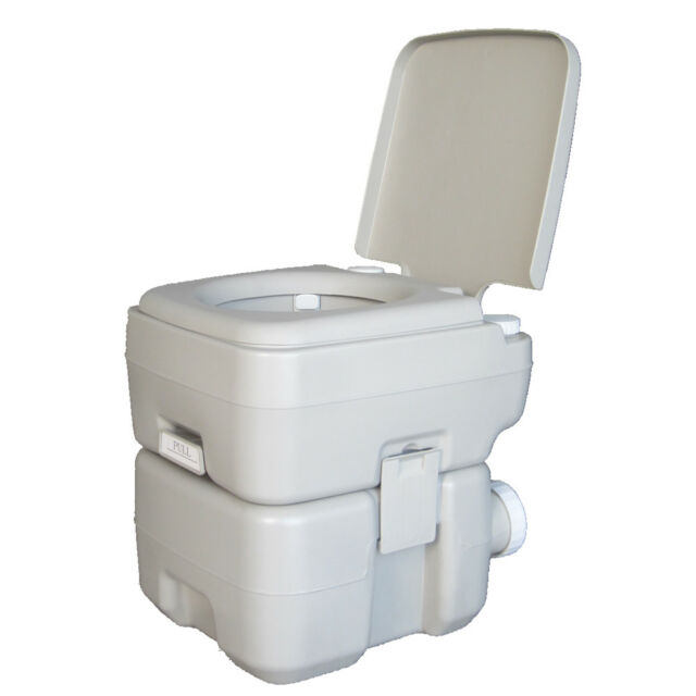 5 Gallon Portable Toilet Flush Travel Outdoor Camping Hiking 20l ...