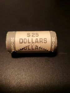 """Roll (25 Coins) 1979 Susan B Anthony Dollars """"P"""" (still in wrapper)"""