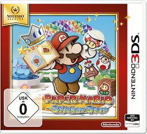 Nintendo-Paper-Mario-Sticker-Star-Nintendo-3DS-Game-Spiel-Dt-abspielbar-NEU