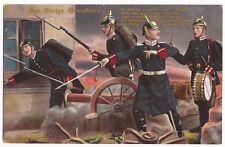 VINTAGE 1914 GERMAN POSTCARD DES KÖNIGS GRENADIERE # 3
