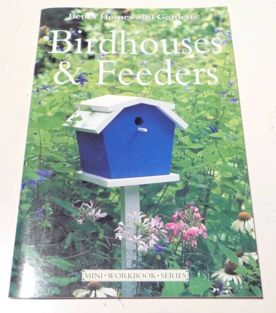 Diy Book Basic Birdhouses Feeders Better Homes Guide Mini Workbook