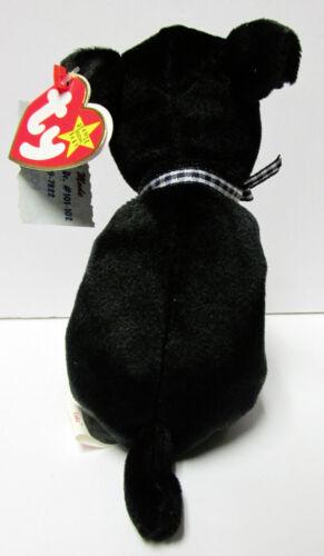 Brand New Mint Tags PRISTINE Ty Beanie Baby Luke BLACK Labrador-Hunting breed