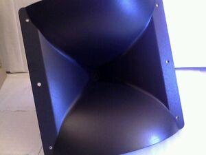 9x9 Compression Horn Titanium  Tweeter 110 Watts RMS 220 Watts Peak New