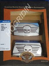 Harley Davidson skull front rear fender tip lens kit touring softail shovelhead