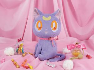 PreOrder BANPTESTO Sailor Moon Dreaming Luna Runa Big Plush 36cm Ribbon style