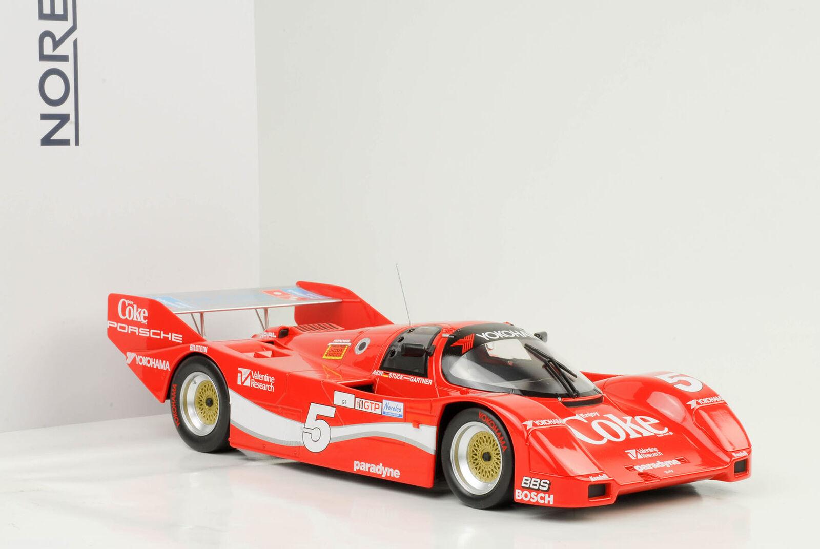 cómodamente 1986 Porsche 962 962 962  5 Coke winner Sebring akin trozo gartner 1 18 norev  Con precio barato para obtener la mejor marca.