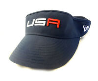 Era Usa Ryder Cup '16 Navy High Crown Adjustable Visor - Saturday Round