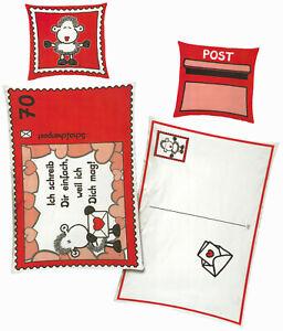 Bettwäsche Sheepworld Postkarte ich schreib Dir einfach