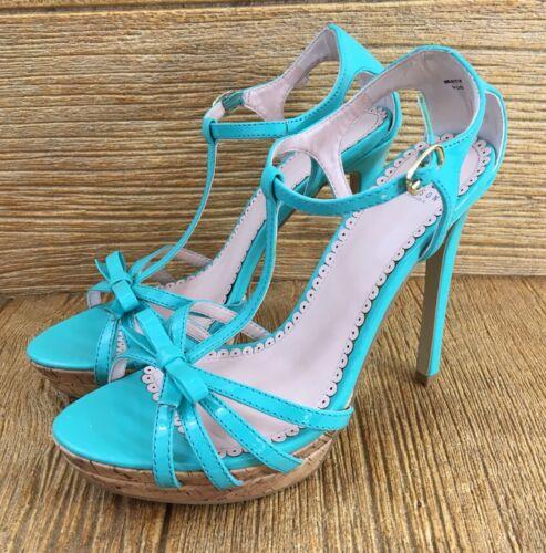 Shoe Dazzle Womens Sandals Heels Shoes Size 9 Mint