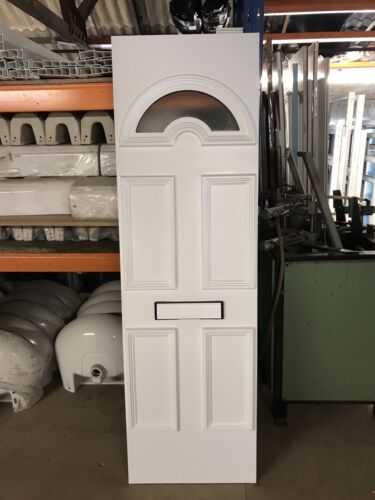NEW UPVC Door Panel, White, 520mm Wide By 1735mm Height, 28mm Thick, P448