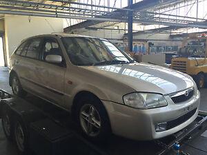 lot 483 now wrecking mazda 323 bj 1999 astina 5d hatch 1 8l manual rh ebay com au Mazda 121 Mazda Lantis Japan