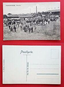 AK-TRAVEMUNDE-Luebeck-um-1910-Rennplatz-Pferderennen-RAR-19165