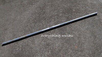 Portable Metal Escrima Sticks Wushu Sticks Steel Bo Staff Steel Staff