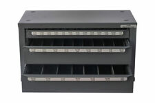 Huot 13000 Fractional Drill Dispenser Organizer Cabinet Holds 116 12 Bits