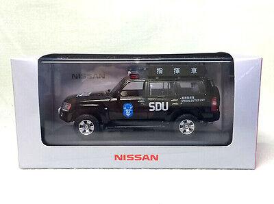 1/43 NISSAN PATROL 2005 hong kong police ( SDU )  DIECAST MODEL
