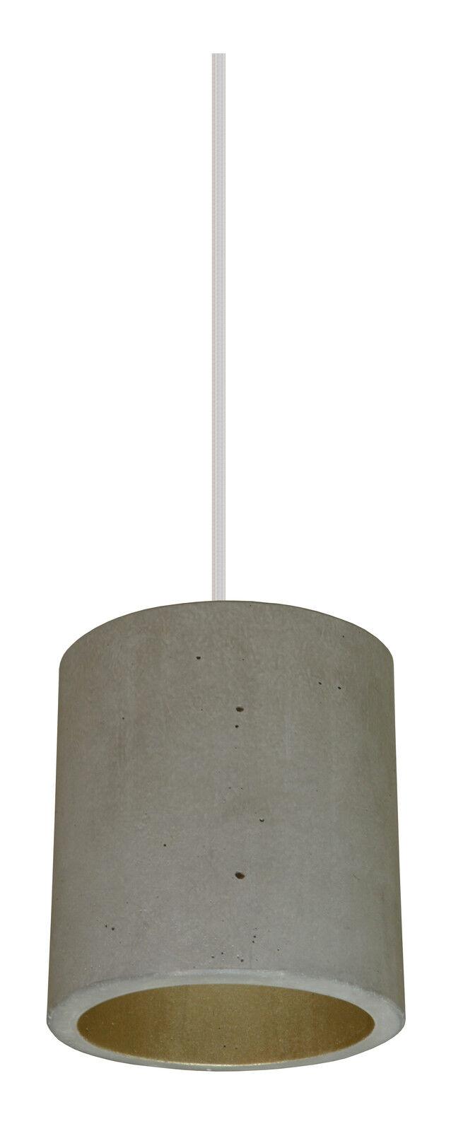 Béton Lampe éclairage béton suspendu lampe plafonnier éclairage éclairage éclairage Lampe pendulaire-béton Design | Une Bonne Conservation De Chaleur  243839