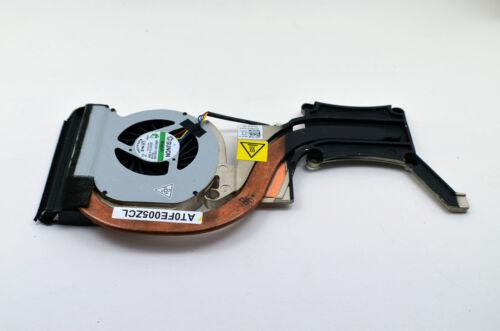 7MJYV OEM DELL Latitude E6420 Discrete Copper Cool Processor Video Heatsink Fan