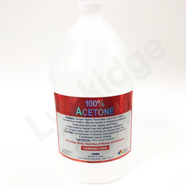 Lensco 100 Pure Acetone Nail Polish Remover 128 Oz / 1 Gallon | eBay