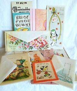 Vintage-Greeting-Cards-Lot-15-Birthday-Gift-Card-Bridal-Circa-1970s-80s-Ephemera